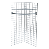 5ft Gridwall Corner Display Kit