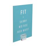 Poster holder Mini Magnetic Acrylic Block