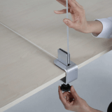 Edge and Mid-Edge Desk Divider Clamps