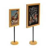 Wooden Poster Display Stand for A3 and A4 graphics