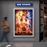 Outdoor LED Illuminated Poster Frame - ideal for use in theatres
