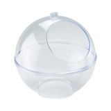Clear Display Sphere Counter Standing