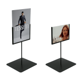 Tabletop Metal Sign Holder Stand