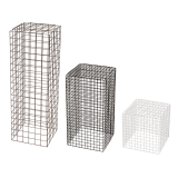 Wire Display Plinth sizes and colours