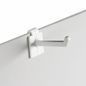 Multi Purpose Hooks for use on free standing display units