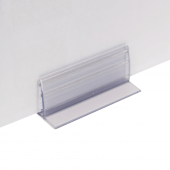 The ticket holder can support card up to 5-6mm thick