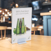 Display menus, promotions and prices