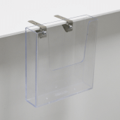 Shelf Edge Spring Clips to attach signs and holders to POS displays