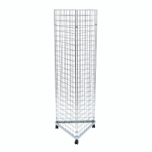 Three Sided Gridwall Stand Without Hooks