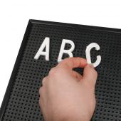 Peg Board Letters