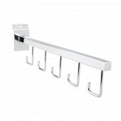 Straight Five Hook Arm Rail