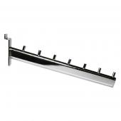 Slatwall Waterfall Arm Rail with 7 pins