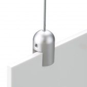Hanging sign fixings clip directly onto your posters and banners