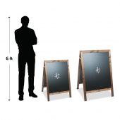 A Board Chalkboard Scale Sizes