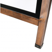 Wooden A Board Poster Holder feet