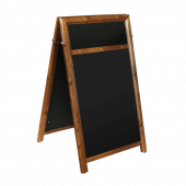 Chalkboard Pavement Sign