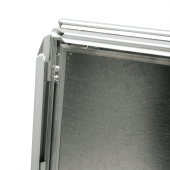 Silver A Board Snap Frame