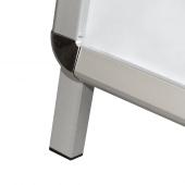 A board with sturdy aluminium feet