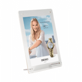 Supervue Acrylic Show Card Photo Holder