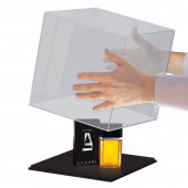 Acrylic boxes for display. Use an acrylic display box for products or collections.