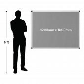 Framed Fire Resistant Notice Board 1200mm x 1800mm