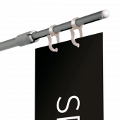 Aisle Sign Fixing available with or without printed aisle sign