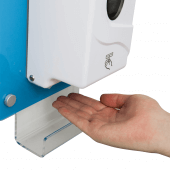 12cm sensor automatically dispenses sanitiser liquid