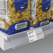 Data Strip for displaying price labels and promotions on your shelf edge
