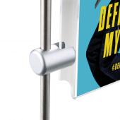Single Sided Vertical Rod Grip