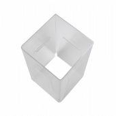Menu Holder with Four Faces top angle