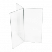 Acrylic Menu Holder with Six Faces