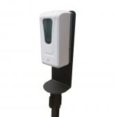Optional add-on automatic hand sanitiser dispenser