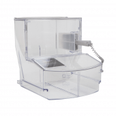 FDA approved clear scoop dispenser for refill shops