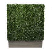 Artificial Boxwood Hedge 100 x 125 x 25cm