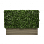 Artificial Boxwood Hedge 100 x 75 x 25cm