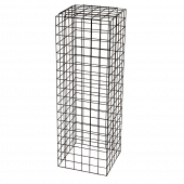 Large Black Wire Display Plinth