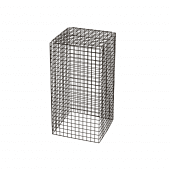 Medium Black Wire Display Plinth