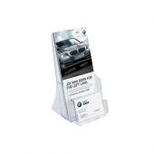 1/3 A4 Leaflet Holder with a Business Card Pocket