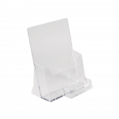 A5 Leaflet Holder with a Business Card Pocket