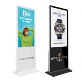 Touchscreen Digital Display Totem with optional branding