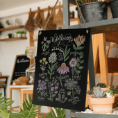 Wall hanging chalk boards for retail and hospitality