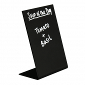 Lean back chalkboard for countertops in various sizes