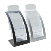 1/3 A4 Contemporary Three Tier Leaflet Holder