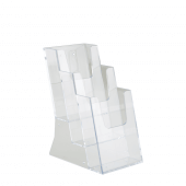 Counter standing three tier leaflet holder