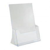 Counter standing leaflet dispenser to suit A4 leaflets and brochures