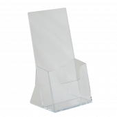 Single tier leaflet holder in 1/3 A4 (one third A4)