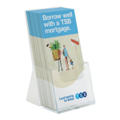 1/3 A4Extra Capacity Leaflet Holder
