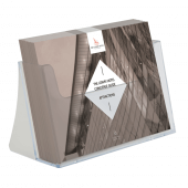 A5 landscape leaflet holder for counterstanding