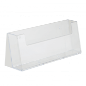 1/3 A4 leaflet holder for counterstanding or wall mounting