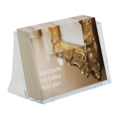 A6 leaflet holder for counterstanding